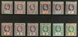1904-5 Definitive Set To 5s, SG 86/97, Fine Mint (12 Stamps). For More Images, Please Visit Http://www.sandafayre.com/it - Sierra Leone (...-1960)