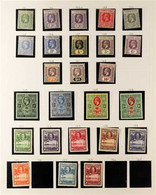 1921-1949 FINE MINT COLLECTION On Album Pages And Including 1921-27 Set Complete To 10s, 1932 Values To 1s, 1935 Silver  - Sierra Leone (...-1960)