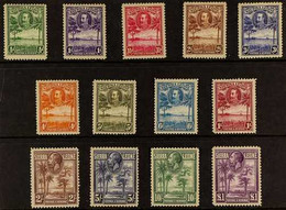 1932 Definitives Complete Set, SG 155/67, Very Fine Mint (13 Stamps). For More Images, Please Visit Http://www.sandafayr - Sierra Leone (...-1960)