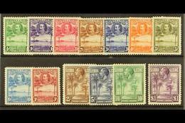 1932 KGV Pictorial Set, SG 155/67. Mostly Fine Mint (13 Stamps) For More Images, Please Visit Http://www.sandafayre.com/ - Sierra Leone (...-1960)