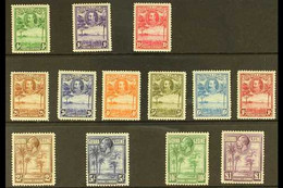 1932 Pictorial Definitive Set, SG 155/67, 10s (SG 166) Some Light Gum Tone, The Rest, Very Fine Mint (13 Stamps) For Mor - Sierra Leone (...-1960)