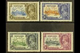 "1935 Silver Jubilee Set Complete, Perforated ""Specimen"", SG 181s/4s, Very Fine Mint Large Part Og. (4 Stamps) For More I - Sierra Leone (...-1960)"