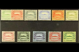 """1908-11 """"Small Canoe"""" Complete Set, SG 8/17, Fine Mint. Fresh And Attractive! (11 Stamps) For More Images, Please Visit  - British Solomon Islands (...-1978)"""
