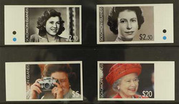 2006 ARCHIVE IMPERFORATE QEII 80th Birthday Complete Set As SG 1166/1169,BDT Archive Imperforates, Never Hinged Mint. R - British Solomon Islands (...-1978)