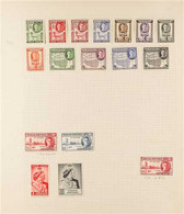 1937-1951 COMPLETE VERY FINE MINT COLLECTION On Album Leaves With All The KGVI Issues From 1937 Coronation To 1951 New C - Somaliland (Protectorate ...-1959)