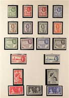 1937-1960 FINE MINT COLLECTION On Album Leaves Including 1938 Definitive Set To 2r, 1942 Set Complete, 1951 New Currency - Somaliland (Protectorate ...-1959)