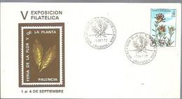 MATASELLOS 1977 PALENCIA - 1971-80 Storia Postale