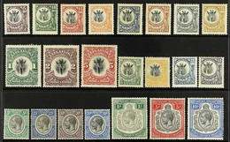 """1922-1931 ALL DIFFERENT MINT COLLECTION With 1922-24 """"Giraffe""""most Values To 5s, Plus 1925 Set; 1927-31 KGV Range To 5s  - Tanganyika (...-1932)"""