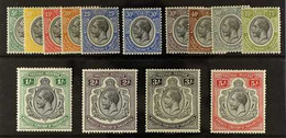 1927-31 KGV Complete Set To 5s, SG 93/105, Fine Mint. (14 Stamps) For More Images, Please Visit Http://www.sandafayre.co - Tanganyika (...-1932)