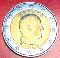 Principato Di MONACO - 2021 - Moneta - 3ª Serie: Principe Ranieri - Ritratto - Euro - 2.00 - Monaco