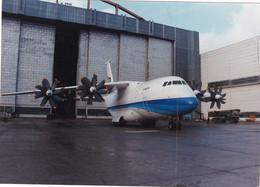 """RUSSIA.#6499 """" PHOTO. AN-70 AIRCRAFT *** - Altri"""