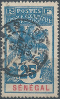 Senegal,France(old Colonies And Protectorates)1906 Oil Palms,25C Oblitérée - Used Stamps