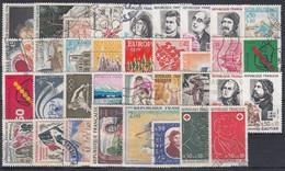 FRANCIA 1972 Nº 1702/1736 AÑO COMPLETO USADO, 35 SELLOS - 1970-1979