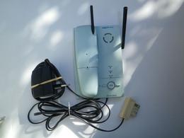 VINTAGE - POUR COLLECTION / DECORATION - TELEPHONE AMARYS 265 SF - BLEU PASTEL - 1999 - COMPLET MAIS NON OPERATIONEL - Telefonia