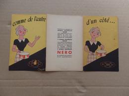 Publicité Sur La Plaque Chauffante Nero En Vente Partout Gros: 4 Rue Poinsot Paris 14. - Unclassified