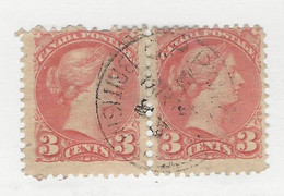 24739) Canada Victoria RPO CPRy MC British Columbia Postmark Cancel - Used Stamps