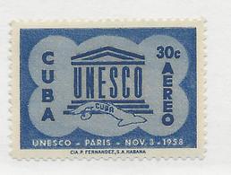24761) Cuba 1955 UNESCO Mint Hinge * - Unused Stamps