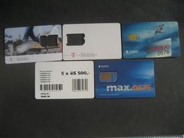 Österreich- 5 Klax Max Karten - Austria