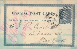 Jamaika Post Card Half Penny Zfr.1895 Kingston - Hamburg AKS - Jamaica (...-1961)