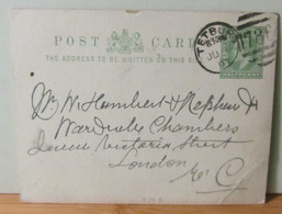 MiNr.P34 B Half Penny England 1907 - Covers & Documents