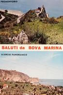Cartolina - Saluti Da Bova Marina - Promontorio - Scorcio Panoramico - 1974 - Reggio Calabria