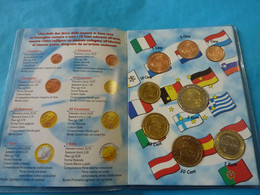 RARE ***  1 SÉRIE 8 MONNAIES EURO MONACO 2001 Neuve Unc Dans Euro Pocket  ( 12 Photos ) - Monaco