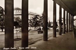 Cartolina - Reggio Emilia - Piazza Della Libertà - 1956 - Reggio Emilia
