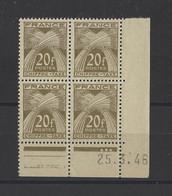 FRANCE. YT  Taxe N° 77  Neuf **  1946 - Portomarken