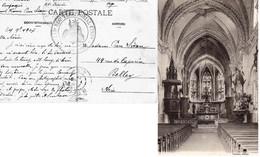 """CP- ETIVAL - Cachet :"""" 115ème Rég Territorial D'Infanterie """"- - WW I"""