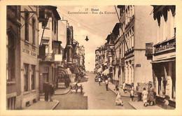 Heist - Heyst - Kursaalstraat Rue Du Kursaal (animée Café ... P. Savels-Verstraete) - Heist