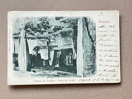 Sr1065)  Siracusa - Latomia Del Paradiso - Grotta Dei Cordari - Siracusa
