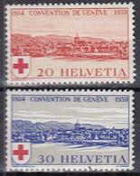 SCHWEIZ  357-358, Postfrisch **, 75 Jahre Rotes Kreuz, 1939 - Neufs