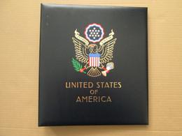 ETATS-UNIS Album DAVO (VII) Contenant Quelques Pages(II) Et Blocs De Timbres Neufs Oblitérés US Stamps USA UNITED STATES - Sammlungen