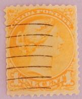 """CANADA YT 28 OBLITÉRÉ """"REINE VICTORIA"""" ANNÉES 1870/1893 - Used Stamps"""