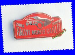 Pin's En Zamac (non Signé) 77 Eme Rallye De MONTE CARLO, MONACO - Rallye