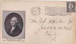 ETATS UNIS : FDC Georges Washington CaD Philadelphie 1932 - 1851-1940