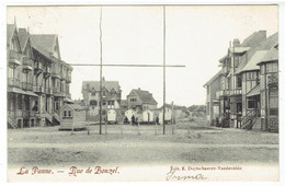 La Panne - Rue De Bonzel - Edit. E. Duytschaever-Vandevelde - De Panne