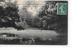 DEP. 27 ST AUBIN D'ECROSVILLE N°903 LE CHATEAU - LA MARE AMBEAU Circulée - Saint-Aubin-d'Ecrosville