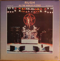 RUSH   / ALL THE WORLD'S A STAGE - Rock