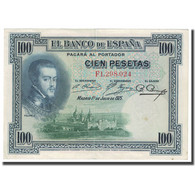 Billet, Espagne, 100 Pesetas, 1925, 1925-07-01, KM:69c, SUP - 100 Pesetas