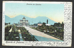Carte P De 1901 ( Palermo / Favorita Dal Giardino ) - Palermo