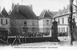 PELOUSEY (Doubs) - Institution Des Sourdes-Muettes Du Doubs - Entrée Principale. 1907. Bon état. - Sonstige Gemeinden