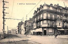 Heist - Heyst - Boulevard Léopold (animée Tram Tramway Edit. Henri Damster) - Heist