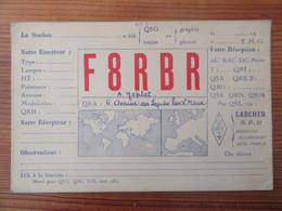 France - Carte QSL Radio F8RBR - St Maur Des Fossés - Repiquage Publicitaire Philips - Vers 1930 - Radio Amatoriale