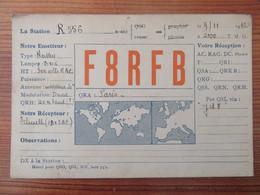 France - Carte QSL Radio F8RFB - Paris - Repiquage Publicitaire Philips - 1932 - Radio Amatoriale