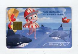 Telecarte 50u °_ 1266F-Critiques 6-Océans-Gem2-05.03-0273 Haut- R/V - 50 Unità