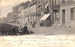 Heist - Heyst - Boulevard Léopold (animée Hôtel 1902 Nahrath) - Heist