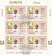 AJMAN 448,used Sheet - Estate 1968: Messico