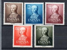 Y-1  Espagne N° 811 à 815 ** à 10 % De La Côte. A Saisir !!! - 1951-60 Nuovi