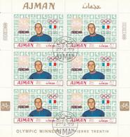 AJMAN 449,used Sheet - Estate 1968: Messico